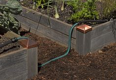 Water where you want it, not where you don't! Snip-n-Drip Soaker System for raised beds, garden rows, landscape and more.