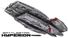 Battlestar Hyperion (Battlestar Galactica) #BSG
