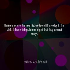 Night Vale Inspirational Quotes