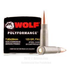 Wolf 7.62x39 Ammo - 1000 Rounds of 123 Grain FMJ Ammunition  #Wolf #WolfAmmo #762x39Ammo #762x39 #FMJ