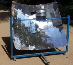 parabolic solar cooker