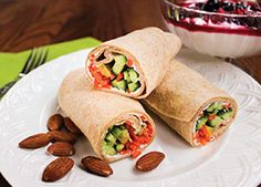 These festive wraps are easy to adapt to your own tastes or refrigerator's contents.