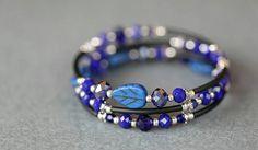 Bekijk dit items in mijn Etsy shop https://www.etsy.com/nl/listing/466792106/memory-wire-wikkel-armband-met-drie