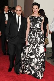 Michael Leva & Amy Fine Collins at the Met Ball,2012