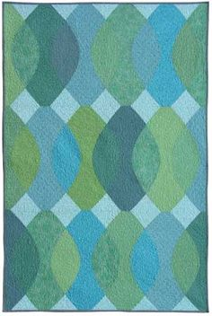 Weeks Ringle Argyle Quilt, by Fun Quilts Quilting Projects, Quilting Designs, Sewing Projects, Quilt Design, Quilting Ideas, Quilt Modernen, Modern Quilt Patterns, Modern Quilting, Green Quilt