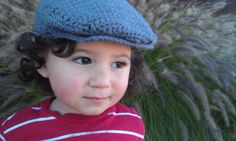 Scully Driver Cap 06 612 months by MommyPowers on Etsy, $18.00