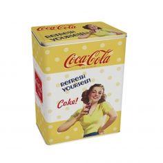 Porta Cereal 24 Cm Pin Up Yourself Coca Cola