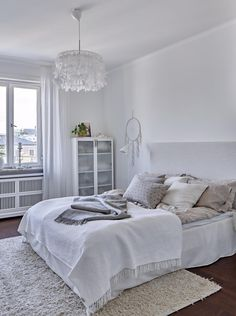 blanc maison ola andersson football chambre à coucher literie