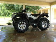 Honda ATV - Mud slingers!