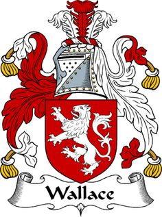 Wallace Clan Coat of Arms-Irish