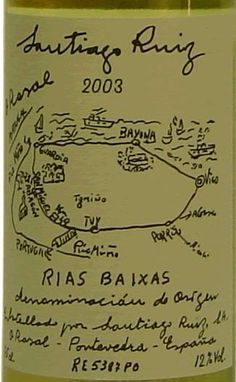 Santiago Ruiz 2003 | '101 Etiquetas originales de vinos que no te dejarán impasible' by @Recetum