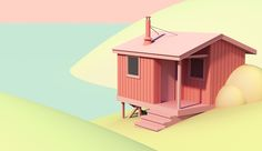 Cabin by the Lake on Behance