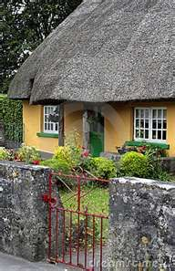 English Thatched Roof Cottage. Almost a dead ringer for the house.