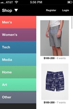 Awesome shopping UI