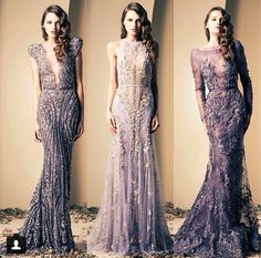 Ziad Nakad. My goodness, what do I have to do to own one of these dresses?? So beautiful!