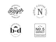 Vintage Logos designed by Tudorache Alexandru. Connect with them on Dribbble; Vintage Logo Design, Vintage Logos, Id Design, Clothing Company, Metal, Google, Happy, Travel, Metals