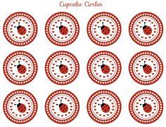 free ladybug party printables
