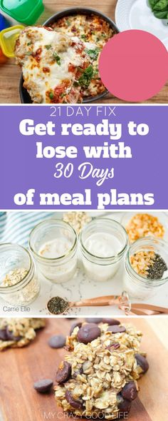 Here are 30 days of 21 Day Fix meal plans to help guarantee your success on the Beachbody program. There's never a bad time to have a good meal plan on hand.