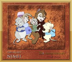 The Secret Of NIMH by WLW [©2012]