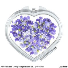 Browse our amazing and unique Purple wedding gifts today. Bridesmaid Flowers, Bridesmaid Gifts, Flower Girl Gifts, Birthday Gifts For Her, Compact Mirror, Personalized Wedding Gifts, Bridal Shower Favors, On Your Wedding Day, Valentine Day Gifts