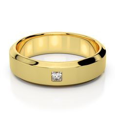 Men's quality gold jewelry is much more readily available than ever before. Learn what to look for when you want to buy a new piece of jewelry for yourself. Mens Gold Jewelry, Clean Gold Jewelry, Wedding Rings Online, Mens Diamond Wedding Bands, Bar Stud Earrings, Gold Platinum, Sterling Silver Earrings Studs, Yellow Gold Rings, Rings For Men