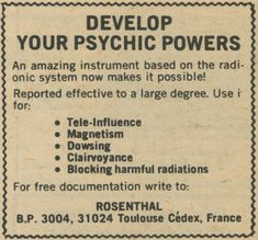 Develop Your Psychic Powers Psycho 100, Mob Psycho, Psychic Powers, All I Ever Wanted, Stranger Things, Writing, Feelings, Magick, Witchcraft