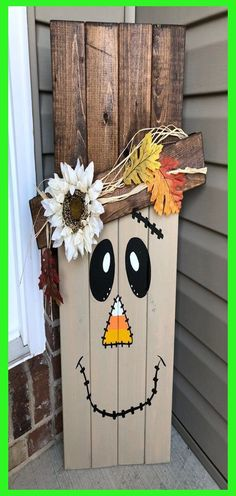 You'll sand, stain, paint and embellish your wood indication to make the ideal homemade addition to your decor. ALL designs can be FRAMED or UNFRAMED,... Fall Wood Crafts, Halloween Wood Crafts, Thanksgiving Crafts, Fall Halloween, Holiday Crafts, Halloween Decorations, Diy Crafts, Pallet Decorations, Halloween Wood Signs