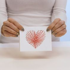 Why Knot make this DIY String Art Valentine?