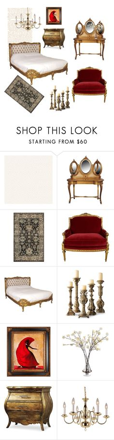 """""""Untitled #452"""" by liiiilylove ❤ liked on Polyvore featuring interior, interiors, interior design, home, home decor, interior decorating, Wall Pops!, Rizzy Home, John-Richard and Hooker Furniture"""