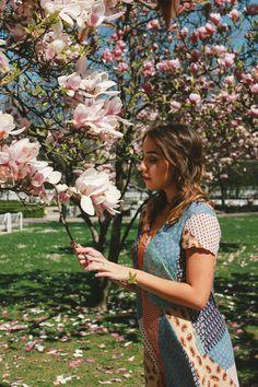 MarinaSays Urban Hippie with Flowers / Zara jumpsuit LOVE