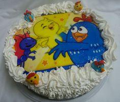 Bolo da Galinha Pintadinha - Cake - https://www.docemeldoces.com/