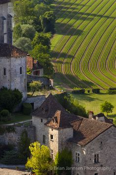 Saint Cirq Lapopie, Lot Valley, Midi-Pyrenees France © Brian Jannsen Photography