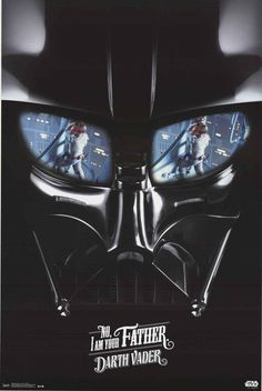 Star Wars Darth Vader I Am Your Father Movie Poster 22x34 – BananaRoad