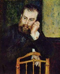 Portrait de William Sisley, père d'Alfred Sisley, (1864), 81 × 65 cm, Musée d'Orsay, Paris
