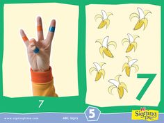 Sign of the Week - Seven Sign Language Colors, Sign Language Book, Sign Language Basics, Sign Language For Kids, Sign Language Phrases, Sign Language Alphabet, British Sign Language, Learn A New Language, Second Language