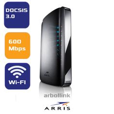 10 best wireless docsis 3 0 cable modems images on pinterest in 2018  arris tg1672g dual band wireless modem