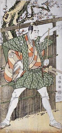 Bando Mitsugoro Ii by Toshusai Sharaku