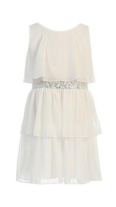Chiffon Flower Girl Party Dress