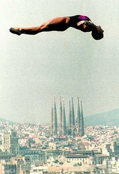 Barcelona '92. Olympic games dive. #Catalonia