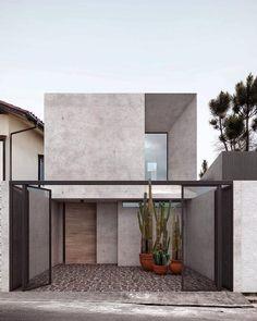 New House Luxury Exterior Facades 25 Ideas Architecture Design, Minimalist Architecture, Facade Design, Amazing Architecture, Exterior Design, Modern Exterior, Modern Residential Architecture, Facade House, House Facades
