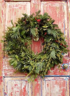 Natural Christmas Wreath...