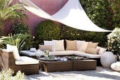 Jardines Chillout - Muebles modernos living, muebles modernos de salon, etc