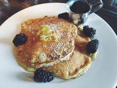 Lemon Pancakes at Beatrix, Chicago. #Brunch #Beatrix #Chicago #Pancakes #Lemon