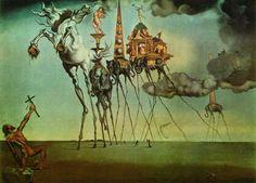 The Temptation of St. Anthony by Salvador Dalí (1946)