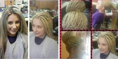Who says white people cant have braids. Come on please stop stereotyping. I think she looks nice.