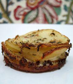 Muffin-Pan Potato Gratins   Plain Chicken