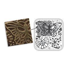 Sizzix DecoEmboss Die - Butterfly Swirls $9.99