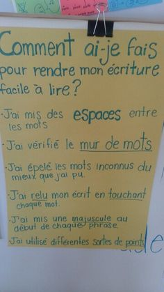 Correction French Teaching Resources, Teaching French, Teaching Spanish, Kindergarten Writing, Teaching Writing, French Lessons, Spanish Lessons, French Worksheets, Inquiry Based Learning