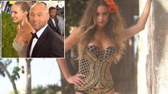 Derek Jeters Pregnant Wife Hannah Poses For Sports Illustrated Swimsuit Issue