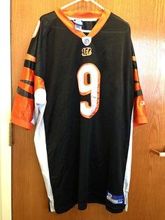 Vintage Carson Palmer #9 Cincinnati Bengals Authentic Football Jersey Size: 3X